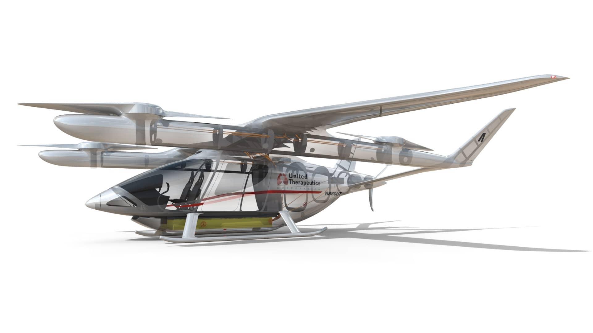The ALIA-250 model plane for architecture design